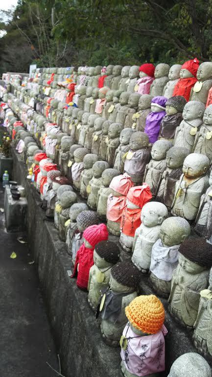 大阪府にある龍眼寺の水子地蔵です
