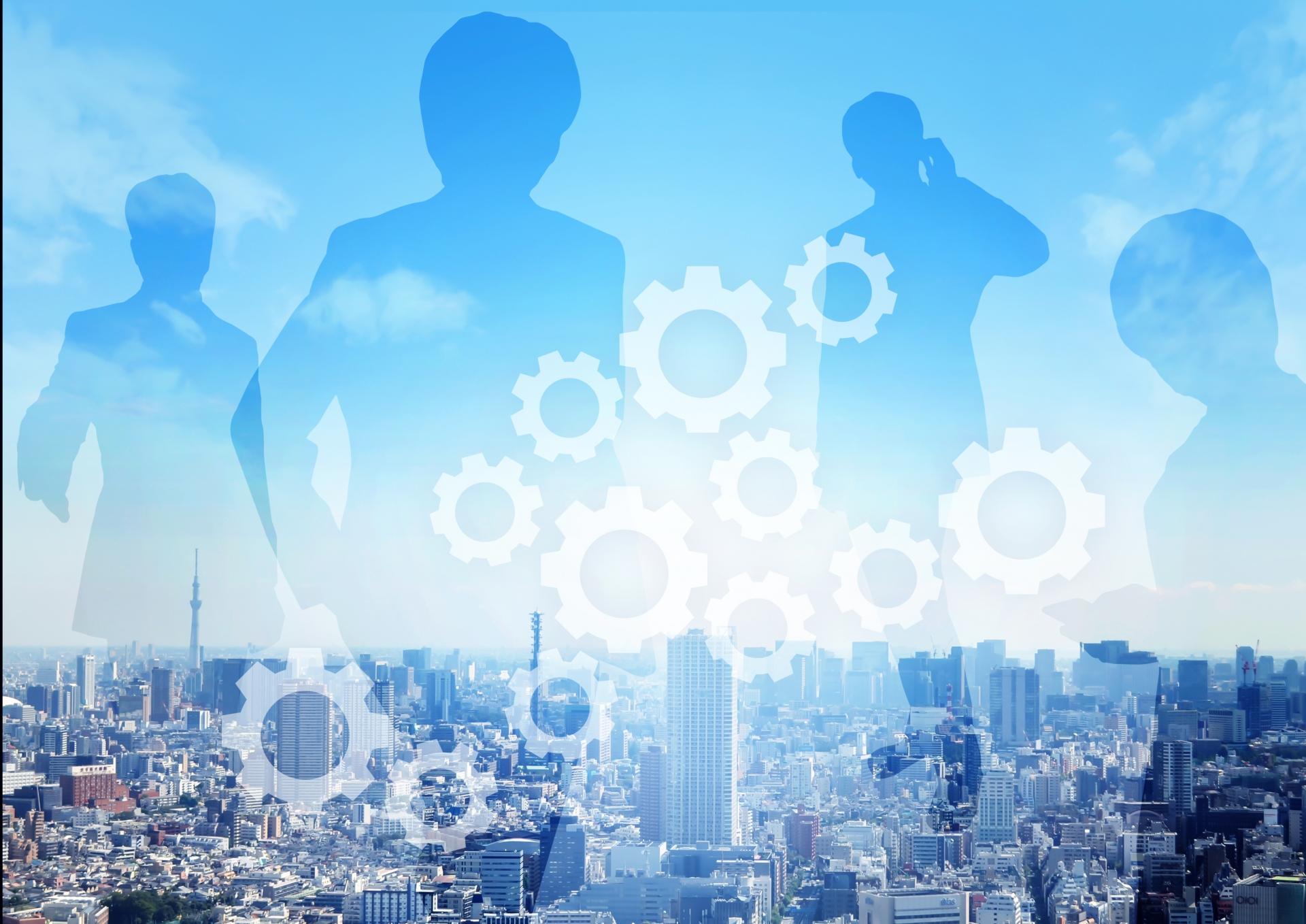 ビジネスと協力の画像