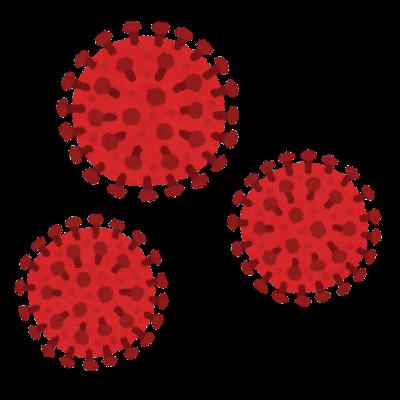新型コロナウイルスのいらすと